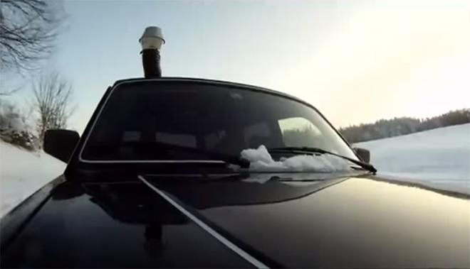 installer un poêle a bois dans une voiture