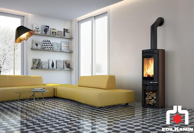 po le bois edilkamin tally po le bois. Black Bedroom Furniture Sets. Home Design Ideas